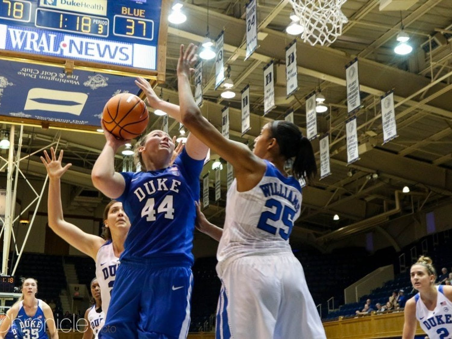 Madison Treece's role diminished as a sophomore, only playing 17 minutes and scoring a single point so far this season.