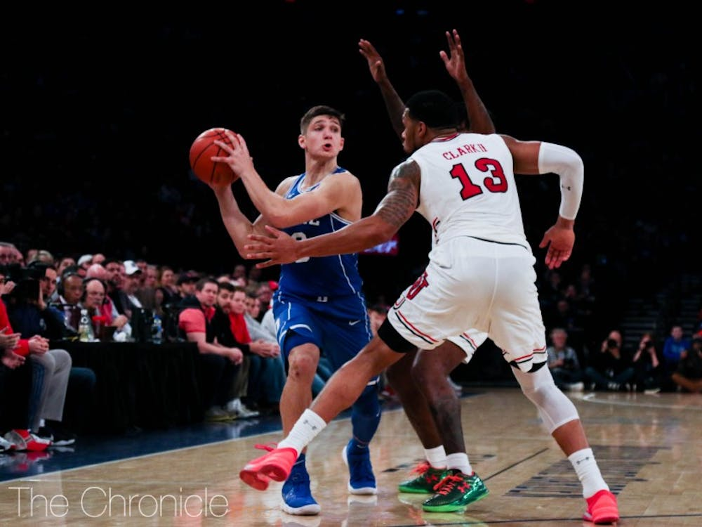 Allen scored just seven points in a loss to St. John's Saturday.
