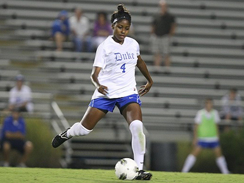 Defender Natasha Anasi scored Duke's second goal of the game in the 11th minute.