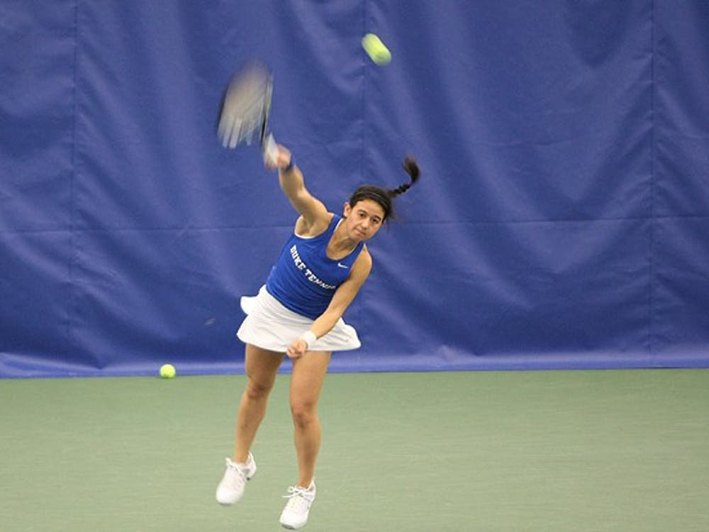 Hanna Mar dropped the decisive match as Duke fell to Maryland for the Terrapins' first ACC victory of the season.