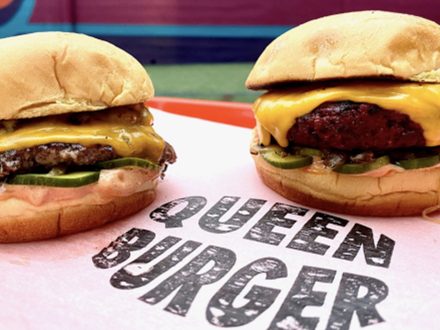 Located on 321 East Chapel Hill Street, Queen Burger hides behind The Durham Hotel.