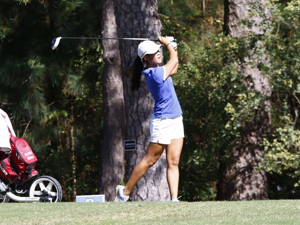 Senior Celine Boutier and the Blue Devils will open up their spring slate at the Northrup GrummanRegional Challenge in the warm California weather.