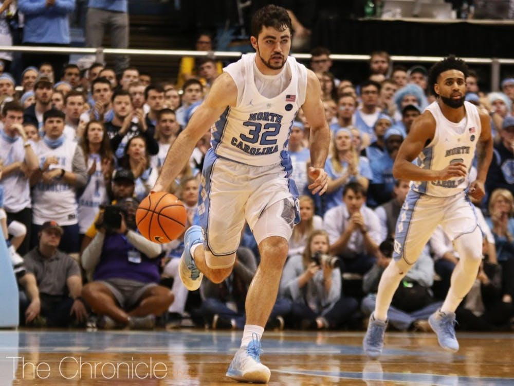 The Blue Devils have yet to find a consistent solution to containing Luke Maye.