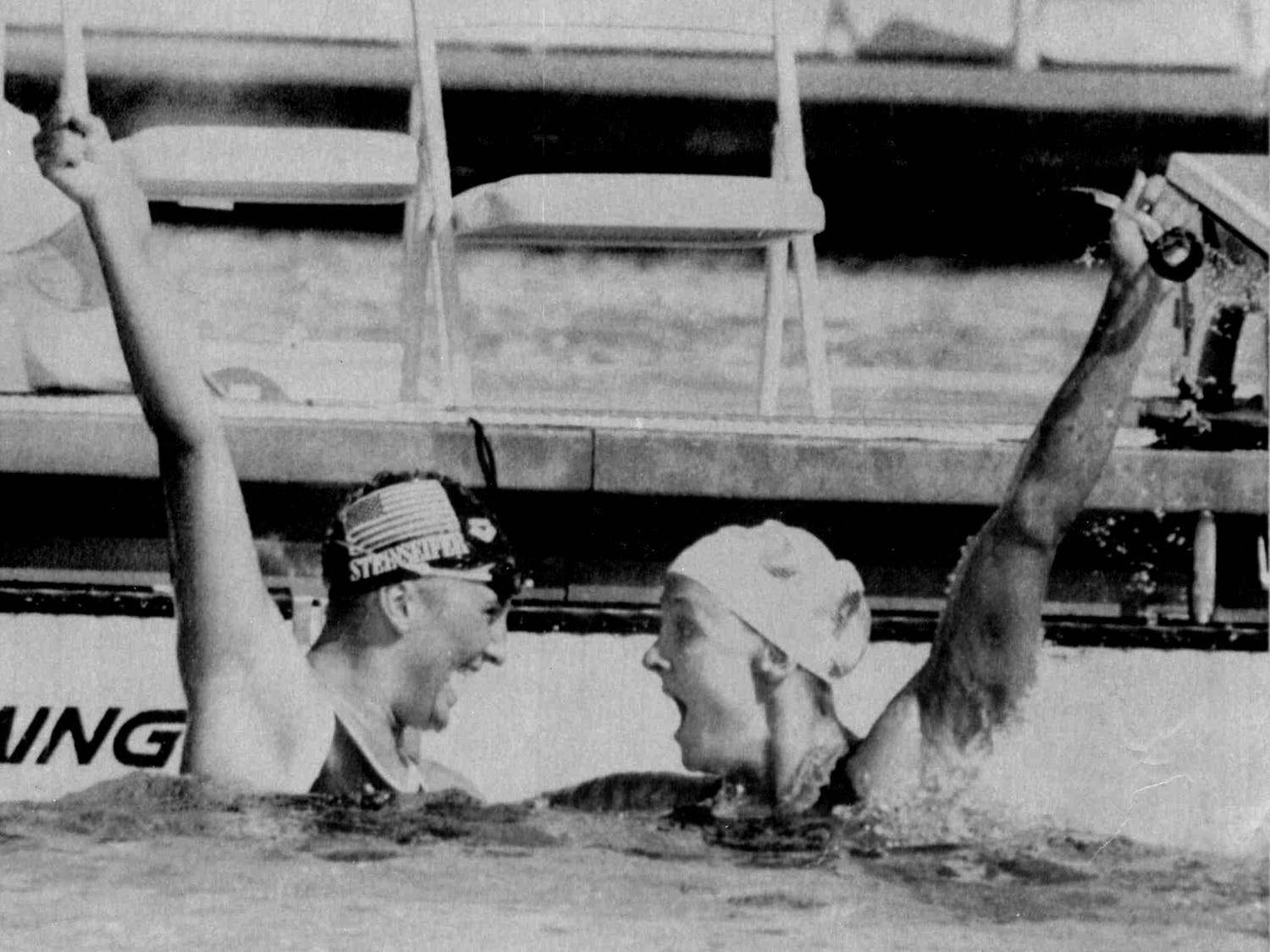 Nancy Hogshead dominated the Olympic scene at just 22 years old. She grabbed four medals in her only Olympic Games.