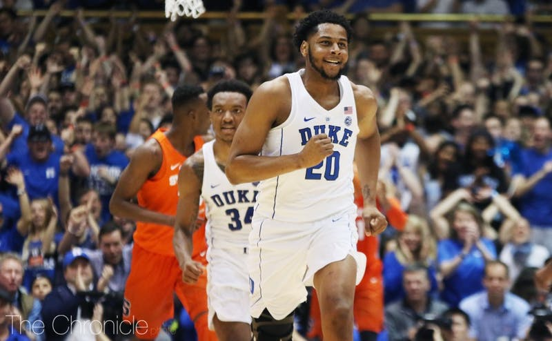 Duke's big men will need to drive to the basket to force Syracuse into foul trouble.