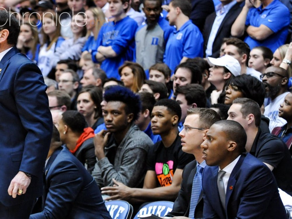 Trevon Duval, the top point guardrecruit in the Class of 2017, attended Duke's game against North Carolina in February with commits Wendell Carter and Gary Trent Jr.