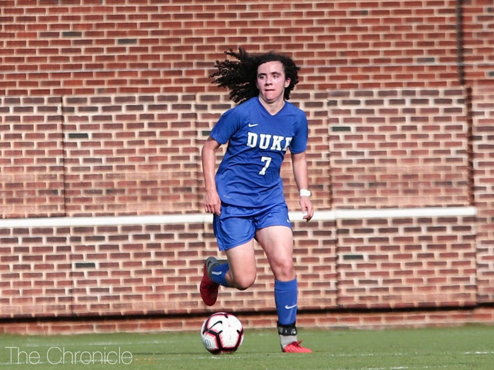 Sophie Jones is ready to make an immediate impact for the Blue Devils.