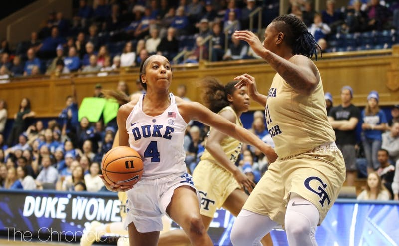 Lexie Brown scored five points in her professional debut.