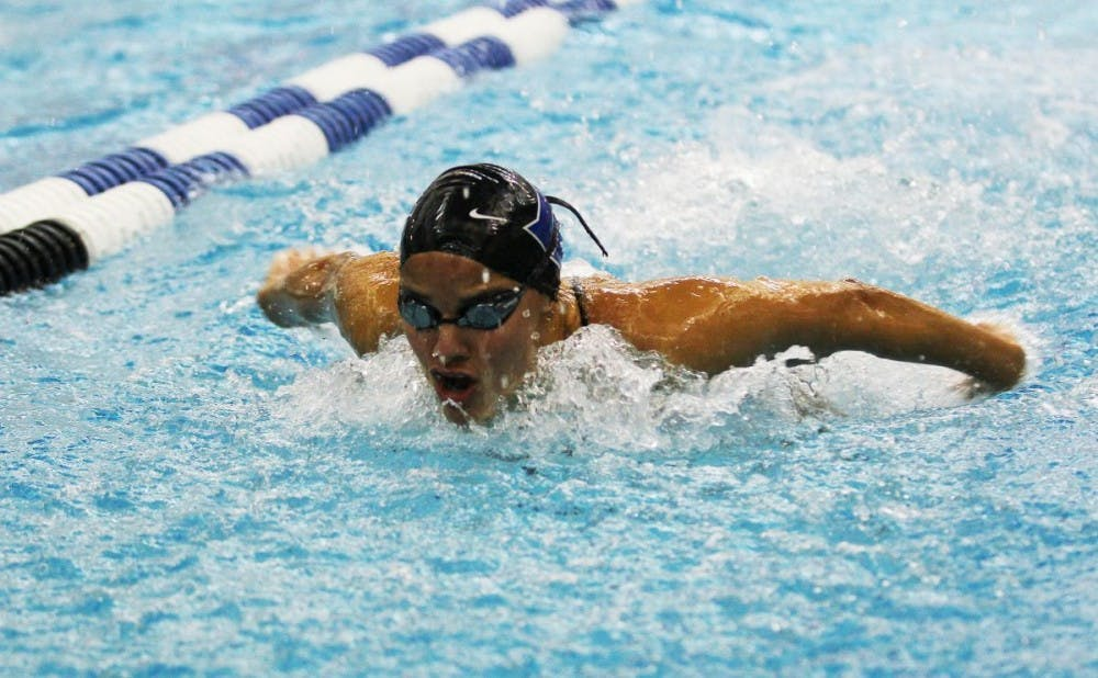 <p>Sophomore Isa Paez will look to clinch a spot competing for Venezuel in the 2016 Summer Olympics at the three-day Winter Nationals this week.</p>