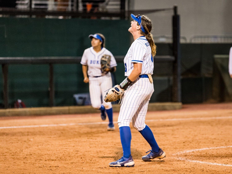 Shelby Walters tossed 12 innings of shutout ball in Duke's 4-0 win over Western Kentucky.