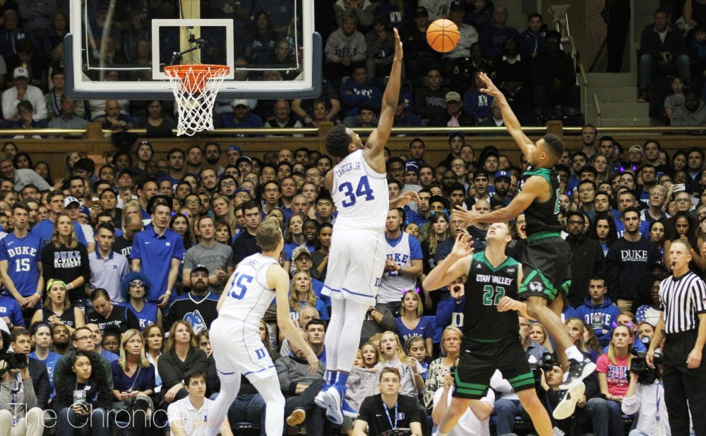 <p>Wendell Carter Jr. continued to dominate on the defensive end in the NBA Summer League</p>
