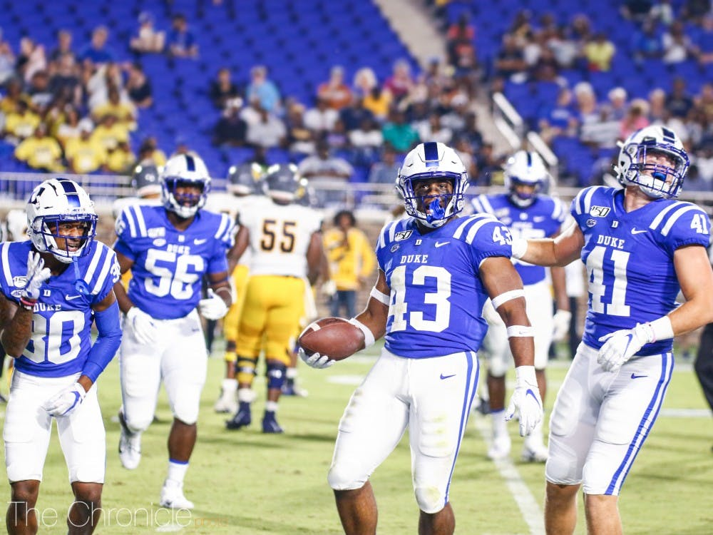 <p>Duke will look to follow up a strong performance last week in its blowout win against North Carolina A&amp;T.</p>