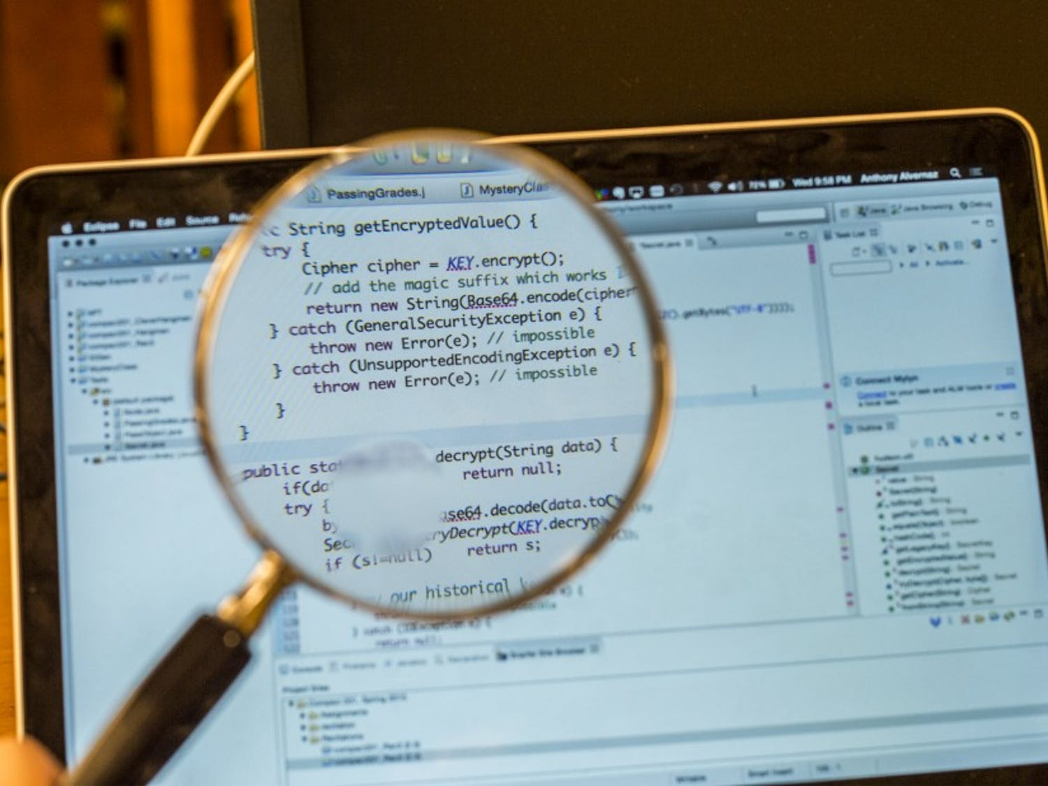 The computer science department launched an academic dishonesty investigation last Fall for students previously enrolled in CompSci 201.
