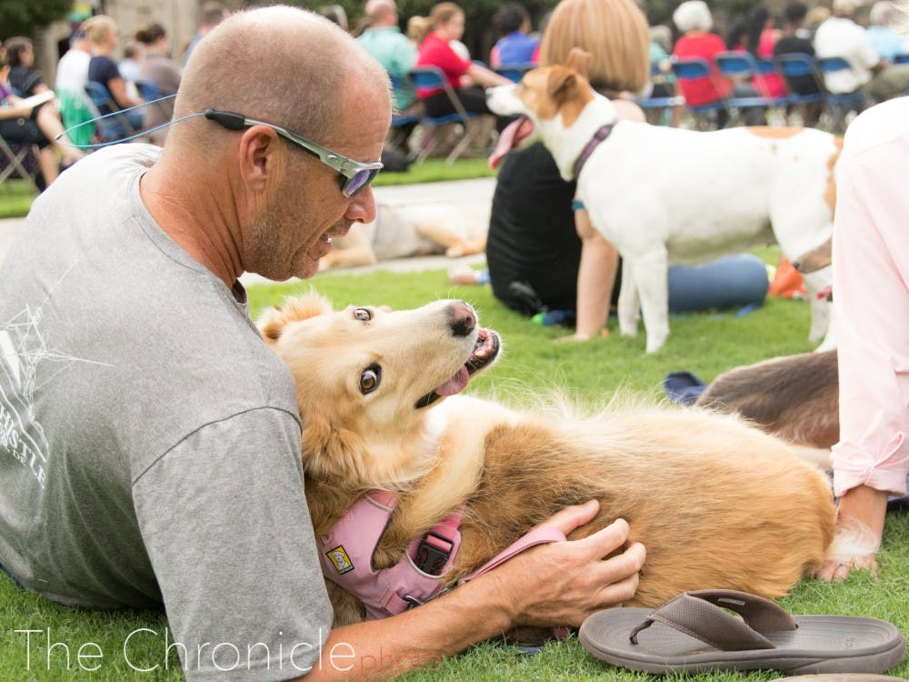 The 2019 Blessing of the Animals happened in front of the Chapel on Oct. 6. Photos by Bre Bradham.