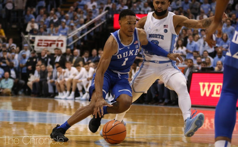 Duval showed flashes of brilliance but struggled to shoot consistently in his lone season at Duke.
