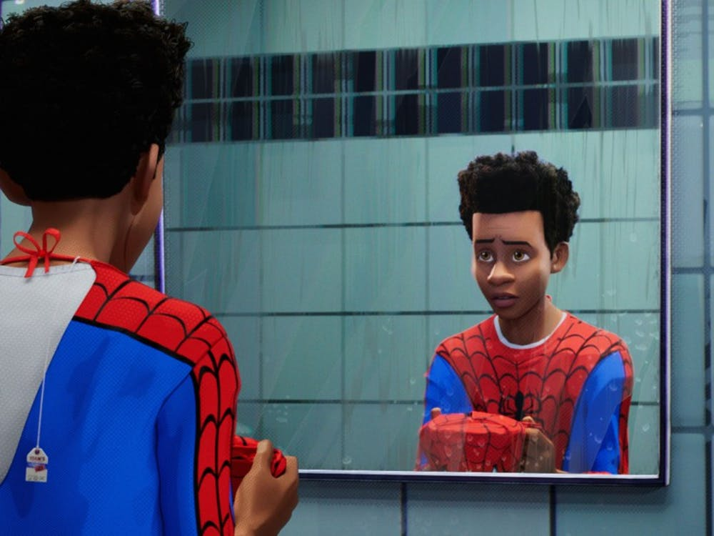 """Spider-Man: Into the Spider-Verse"" follows Miles Morales as he takes on mad scientist Kingpin, enlisting the help of fellow Spider-people."