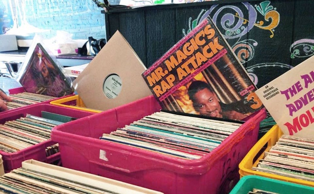 WXDU will host its first record fair at the Rubenstein Arts Center Saturday.