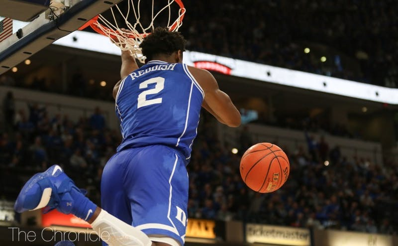 Cam Reddish was as frustrating as he was thrilling in his lone season at Duke.