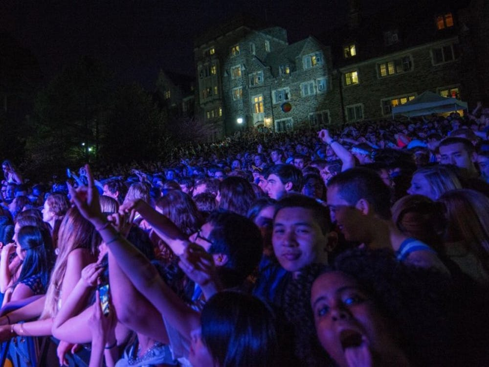 Students enjoyed previous Old Duke concerts featuring Bowling for Soup and Vanessa Carlton.