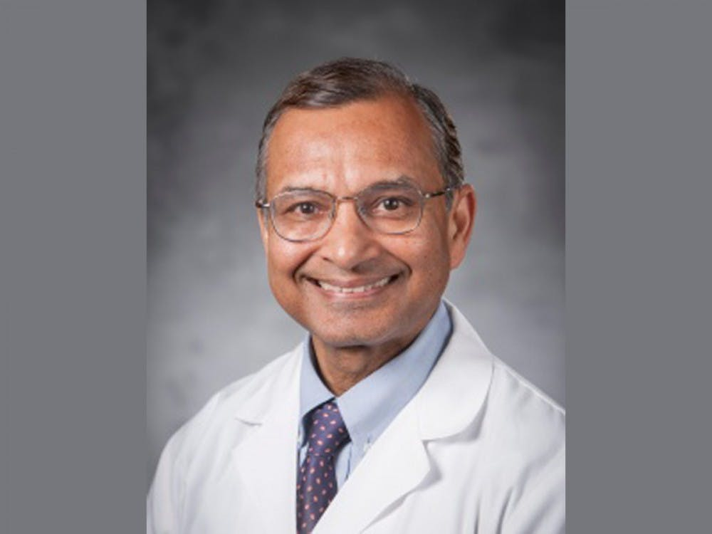 Ranjan Sudan, professor and vice chair of education in the department of surgery at the School of Medicine and Duke Health general surgeon.