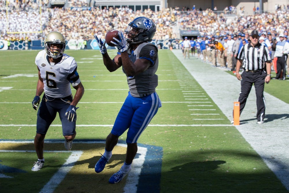 <p>Duke responded to Pittsburgh's opening score with back-to-back touchdowns.</p>