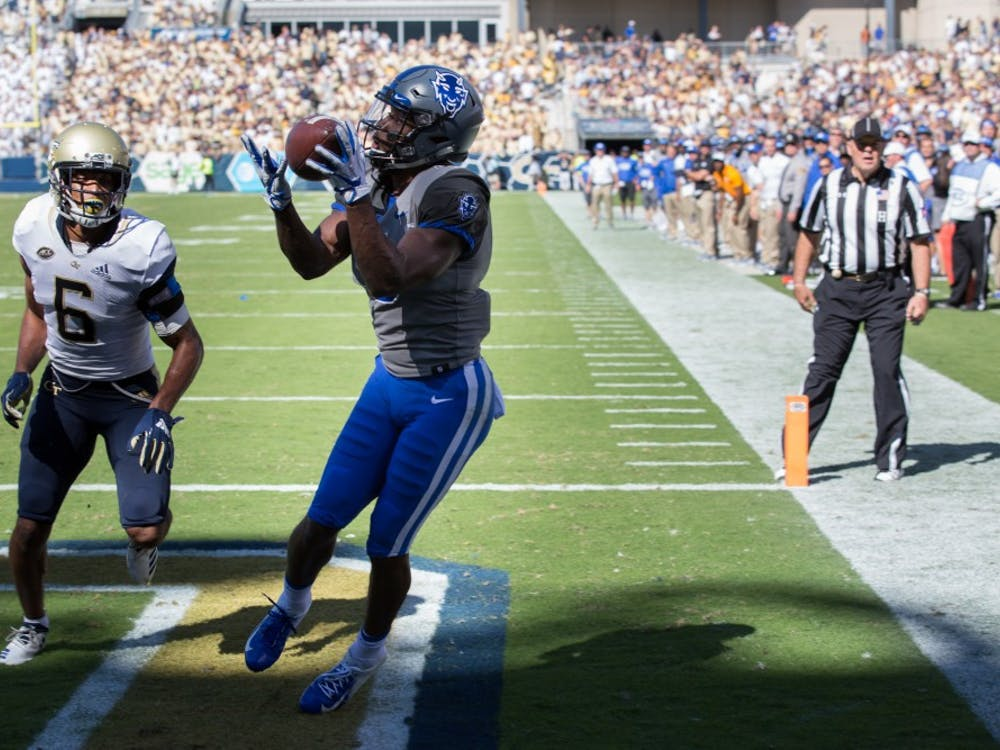 Duke responded to Pittsburgh's opening score with back-to-back touchdowns.