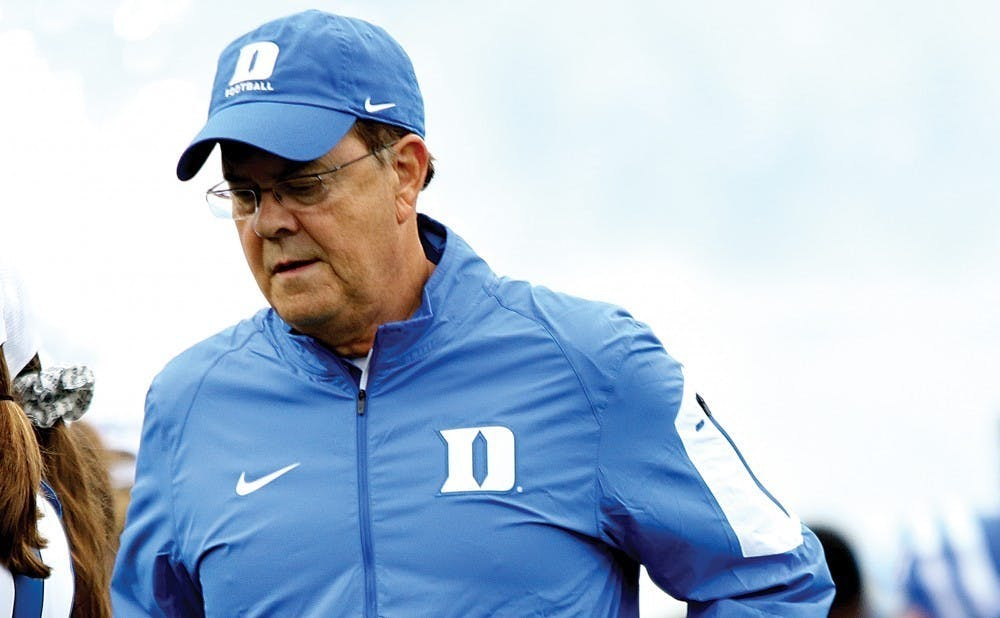 <p>Head coach David Cutcliffe and the Blue Devils will look to make a bowl game for the first time since 2018 after a disappointing 5-7 finish last year.</p>