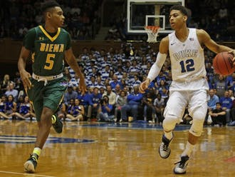 Guard Derryck Thornton played a prominent role for the Blue Devils this season, but opted to transfer with an eye on playing closer to home.