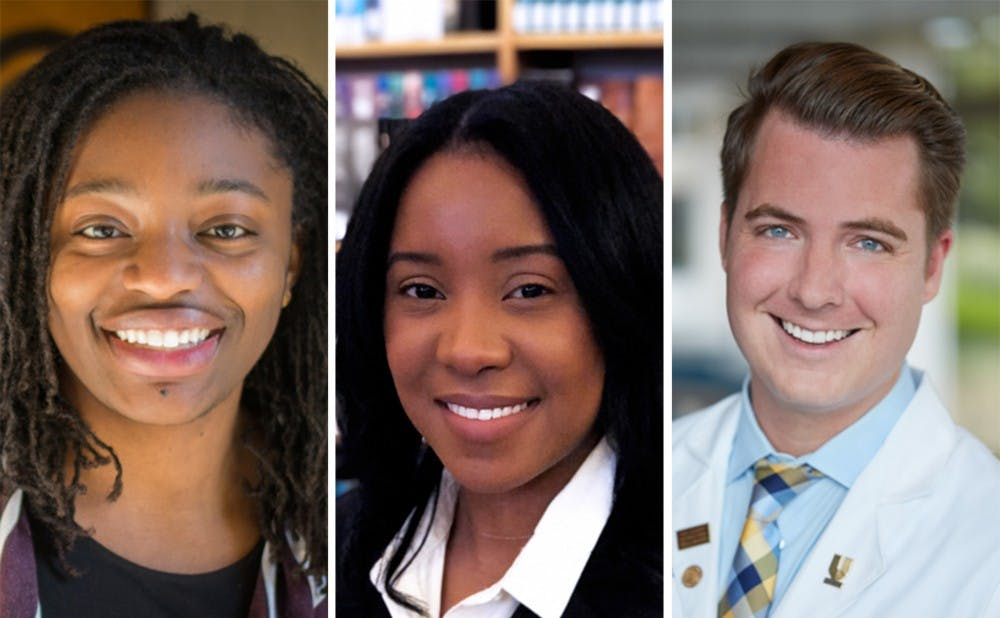 <p>Voting members of the General Assembly of GPSC will select either Erika Moore, Alisha Hines or Daniel Goltz as their next Young Trustee.</p>