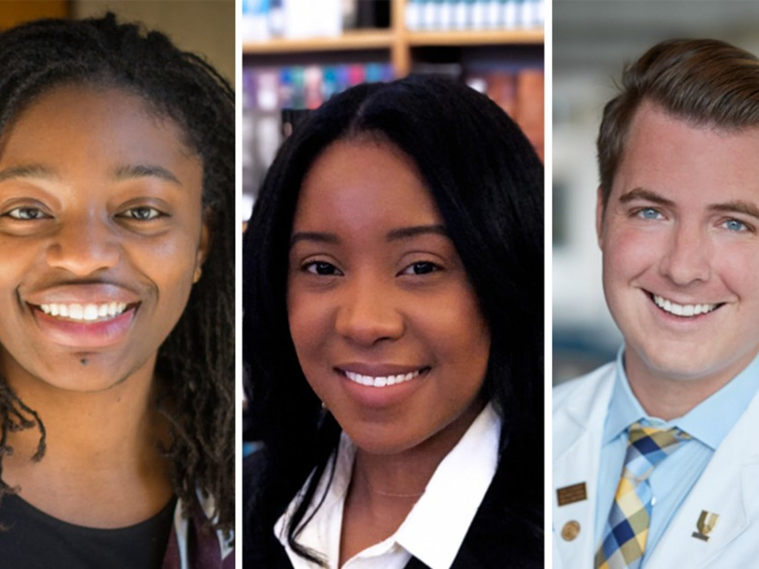 Voting members of the General Assembly of GPSC will select either Erika Moore, Alisha Hines or Daniel Goltz as their next Young Trustee.