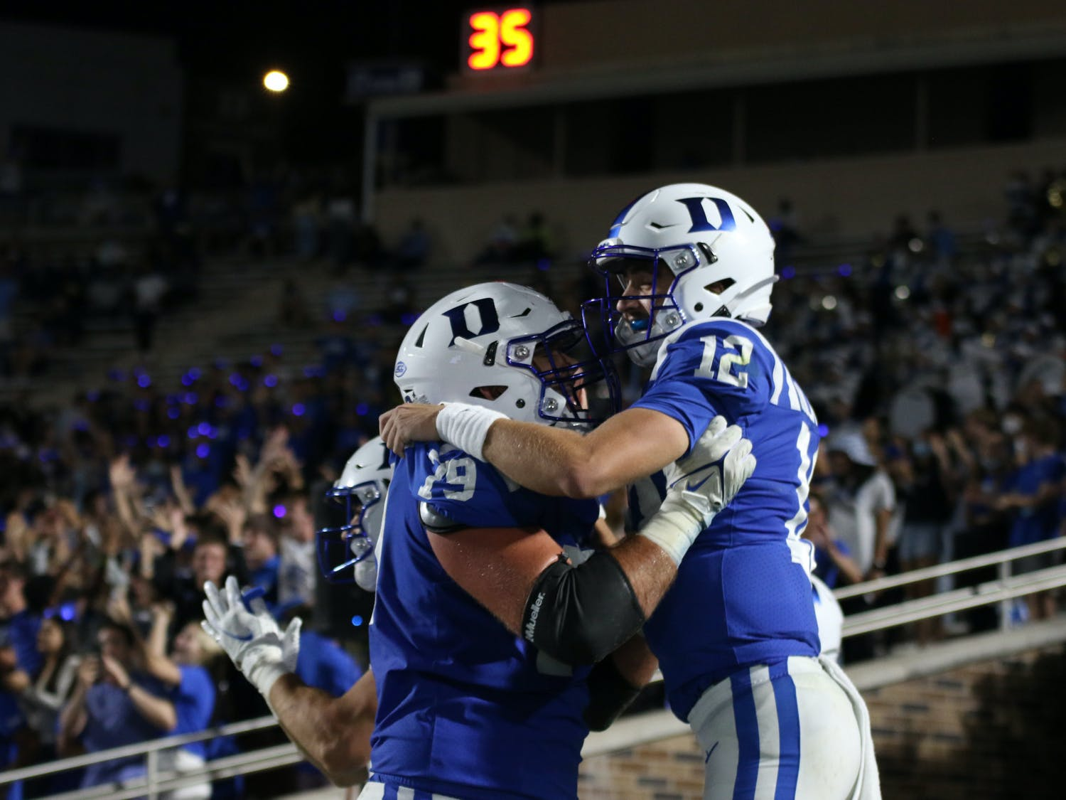 Quarterback Gunnar Holmberg has hovered just under and above the 70 percent completion mark in all three of his games.