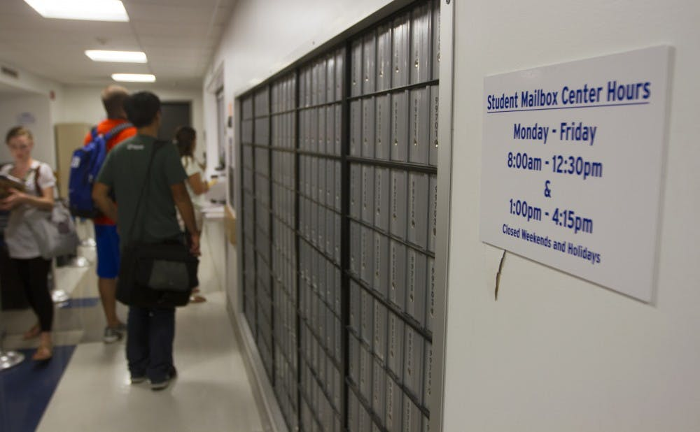 An increase in processed packages, a new locker system and the relocation of freshman mailboxes from East Campus have contributed to long wait times at the Bryan Center post office.