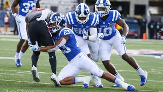 Redshirt senior safety Lummie Young IV (23) has been a difference-maker for the defense even after 2020 was cut short by an injury.