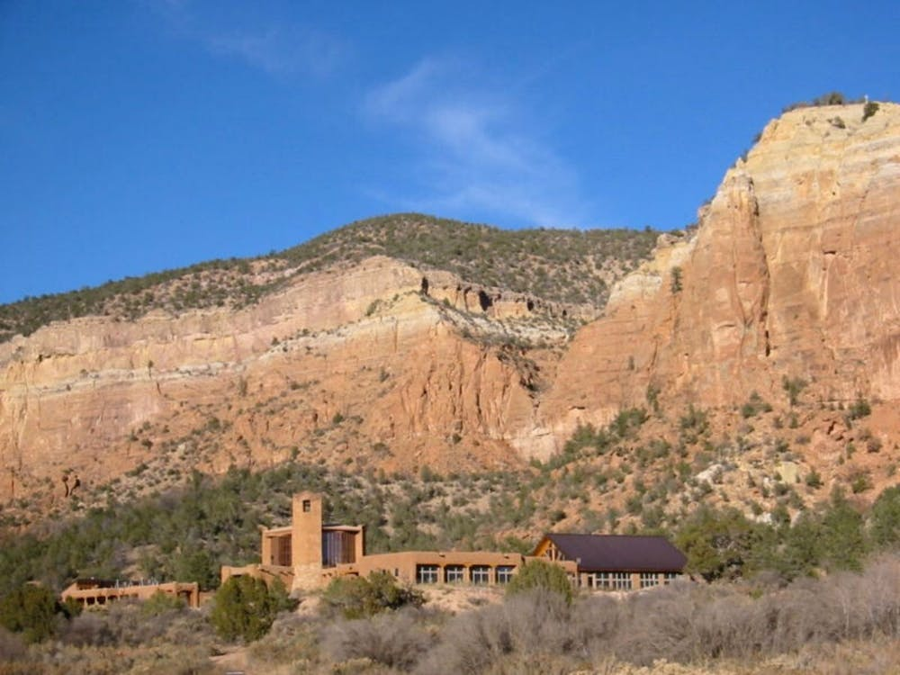The Monastery of Christ in the Desert in New Mexico, where one Duke student was without Internet access during spring break when the University announced it was closing down for the semester.