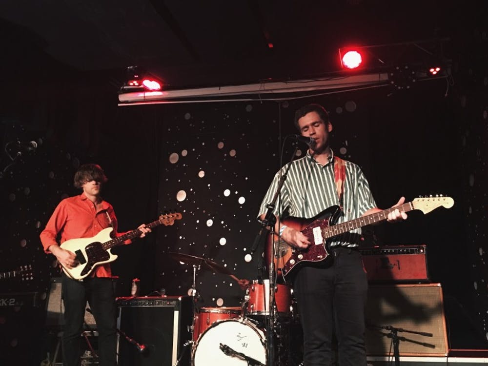 "Parquet Courts frontman Andrew Savage visited Durham's The Pinhook last week in support of his debut solo album ""Thawing Dawn."""