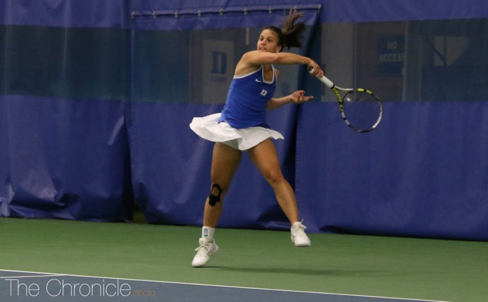 <p>Samantha Harris will open play as the No. 3 seed at this weekend's tournament on the West Coast.</p>