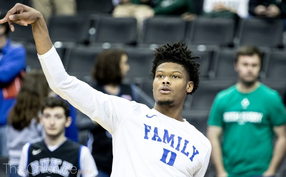 The No. 10 pick, Cam Reddish is ready to make an impact in the NBA.