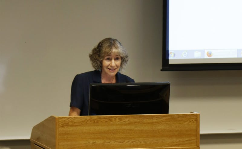 Thursday marked the first Academic Council meeting with Nan Jokerst,J.A. Jones Distinguished Professor of Electrical and Computer Engineering, as chair.