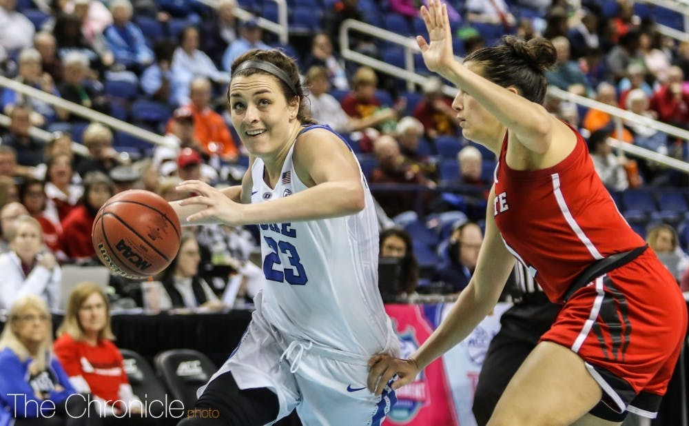 Rebecca Greenwell's final NCAA tournament appearance will come as a No. 5 seed.
