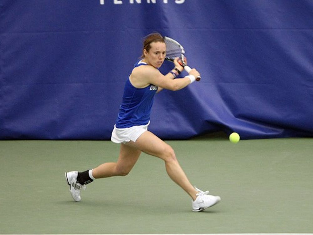 Transfer Marianne Jodoin hasn't lost in her first season at Duke after coming from Fresno State.
