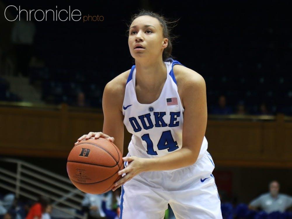 Faith Suggs' leadership will prove vital to Duke's success this year.