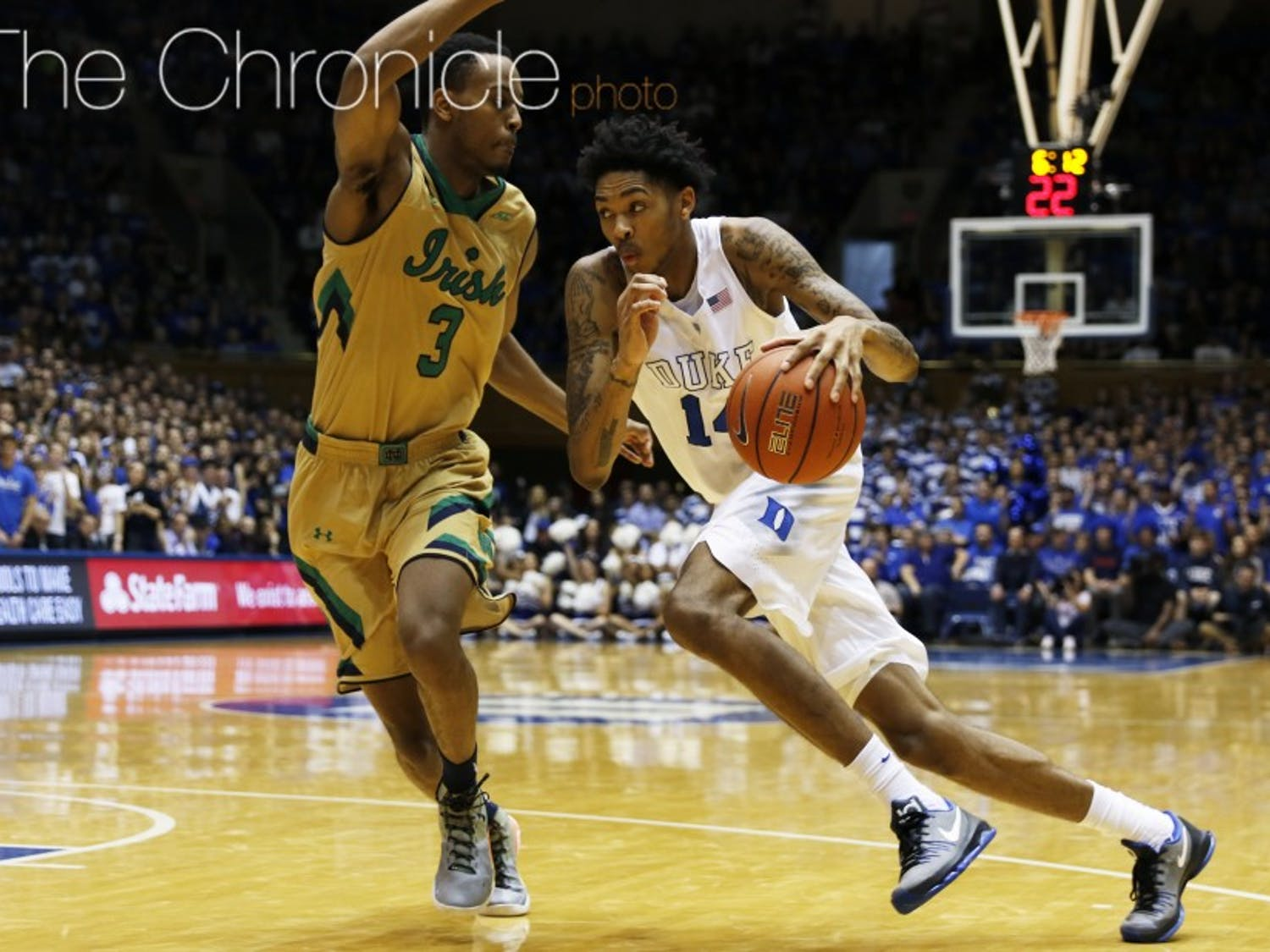 Ingram has been serving as a stretch four for Duke since Amile Jefferson's injury, and poses a matchup problem for opposing defenses due to his combination of shooting prowess and driving ability.