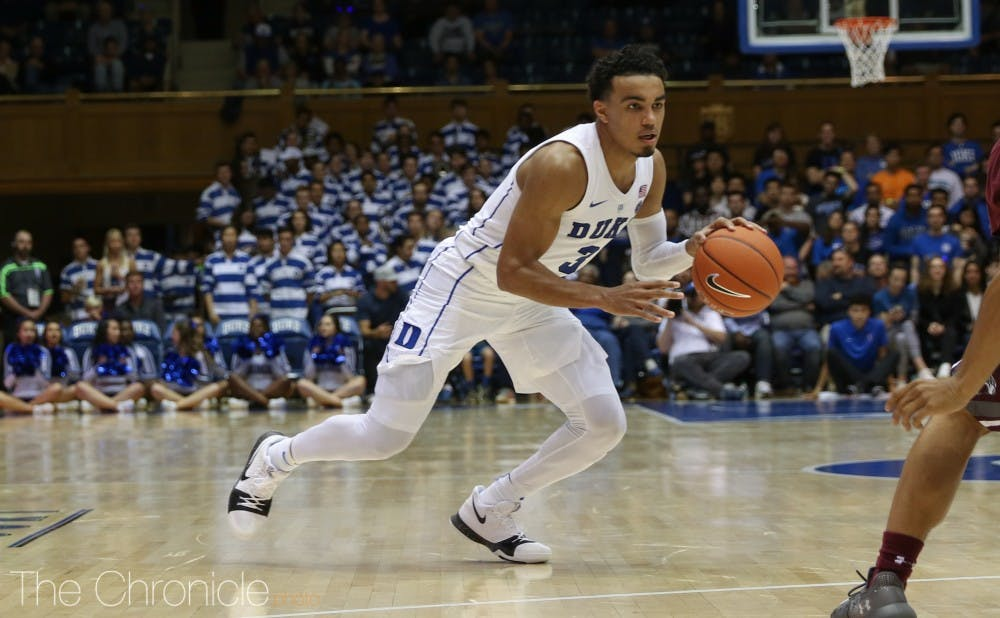 <p>Jones controlled the offense, while racking up nine assists Tuesday.</p>