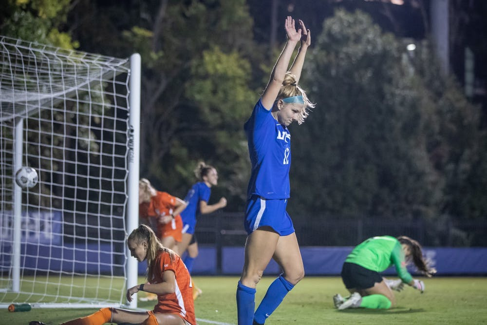 <p>Duke women's soccer is living up to its billing as one of the best teams in the country.</p>