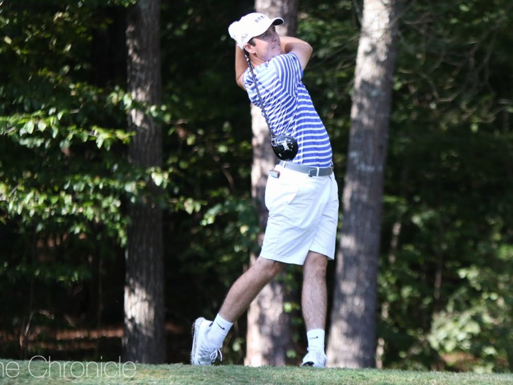 The Blue Devils dropped eight spots on the leaderboard after entering the third round tied for second place.