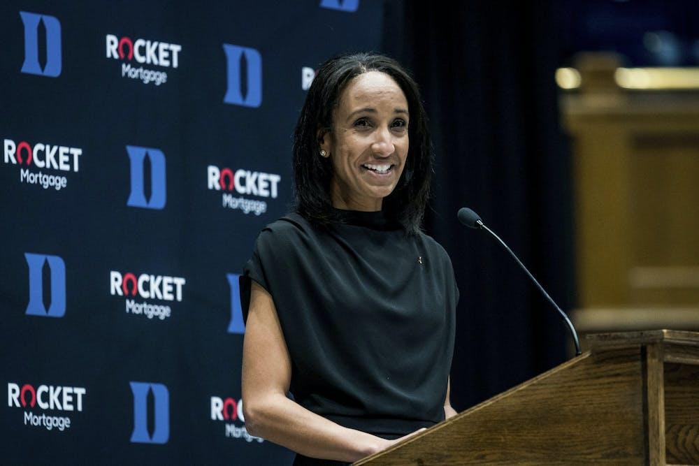 Nina King took over as Duke's athletic director Sept. 1.
