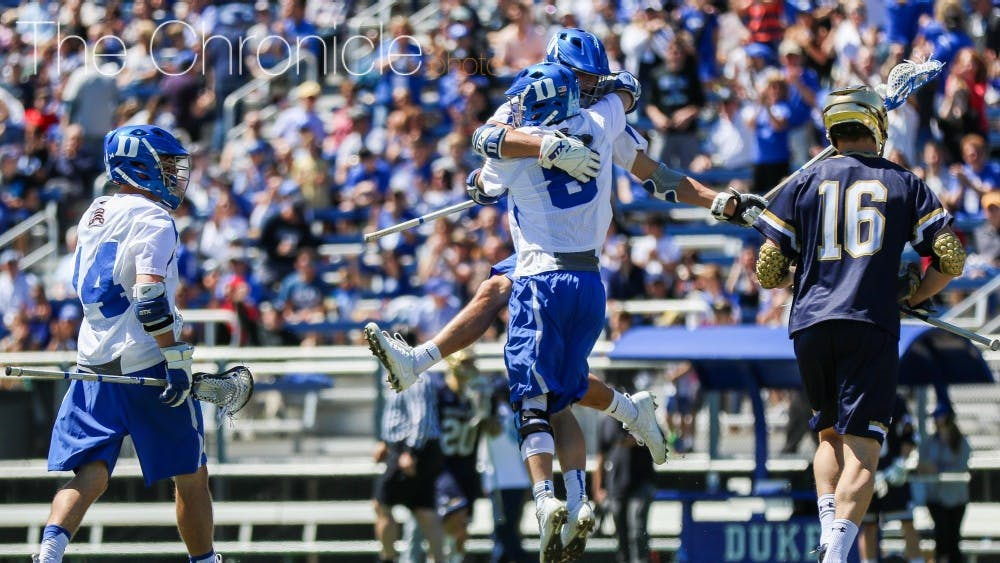 The Blue Devils have won seven of their last eight games led by a suffocating defense.