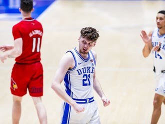 Matthew Hurt scored 37 points for Duke against Louisville Saturday, but the Blue Devils still fell short.