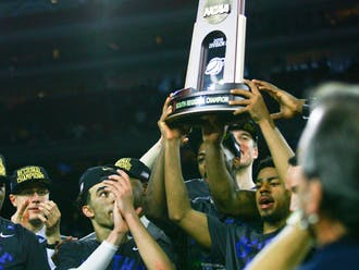 The Blue Devils reached the Final Four through a total team effort, with all eight scholarship players making contributions.