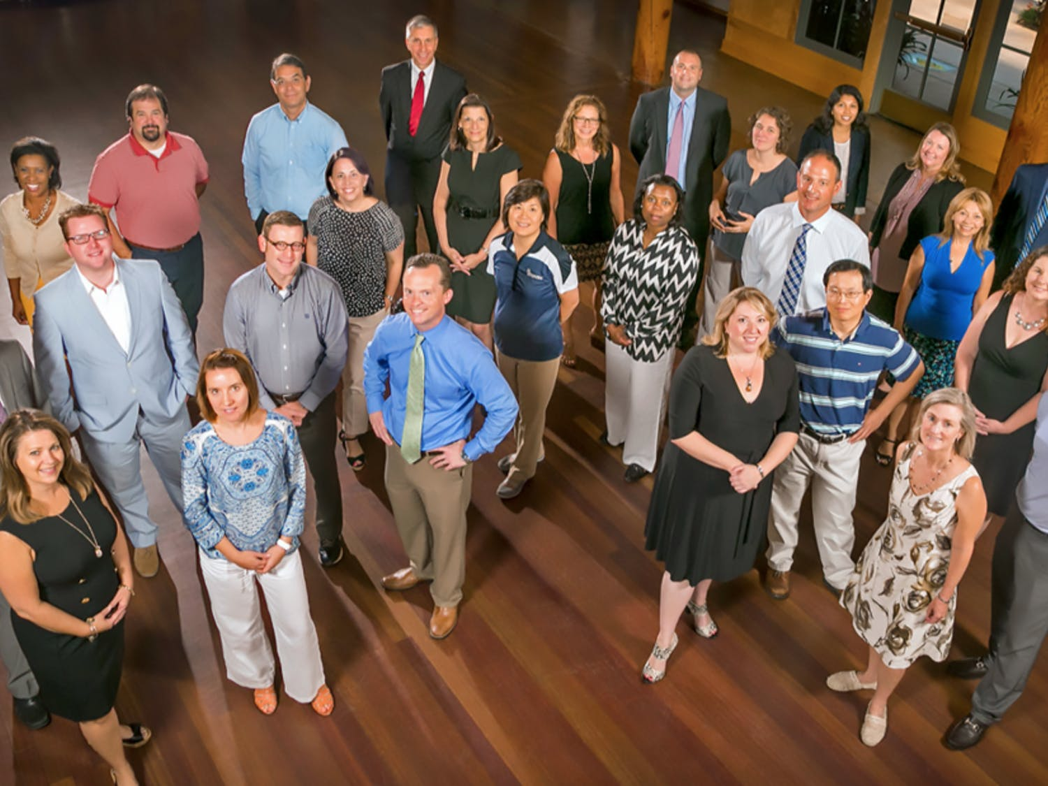 The 26 participants of the Duke Leadership Academy included employees in the Divinity School, Duke Athletics and the Law School, among others.